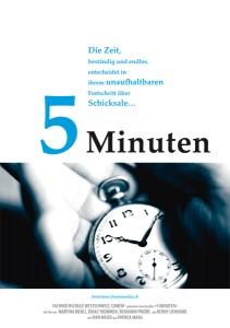 """Affiche """"5 Minuten"""""""