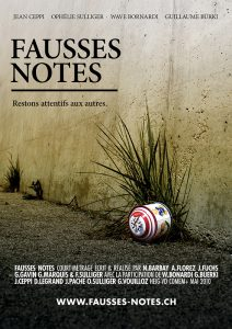 "Affiche ""Fausses Notes"""