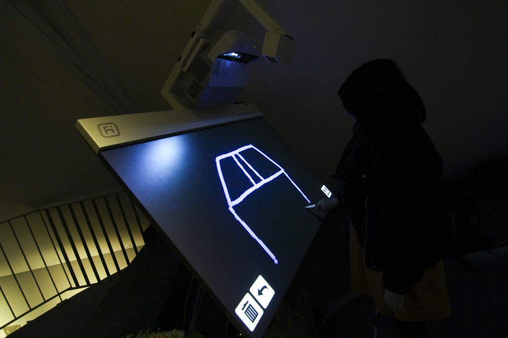Table multitouch Future Intruments