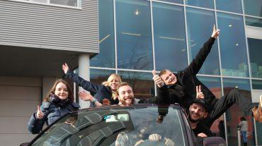 Les étudiants se mobilisent sur le thème de la mobilité à Yverdon
