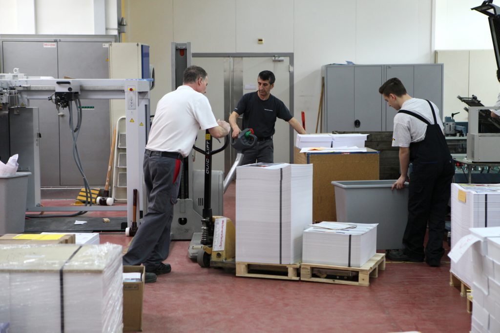Appenzeller Druck AG – Produktionshalle