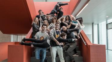 Les futurs ingénieurs des médias, en pleine réflexion sur la campagne des superhéros